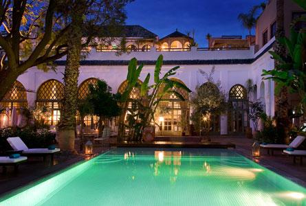 Plenitude voyages dmc maroc les jardins de la medina for Le jardin de la medina